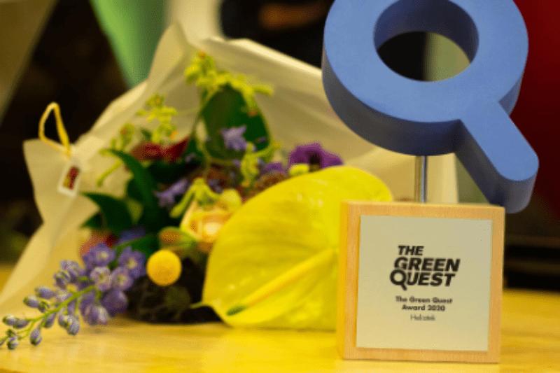 Green Quest Awards in 3D print - Oceanz
