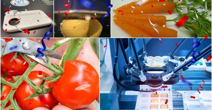 Augustus 10 Jaar 3D Printen Food - Oceanz