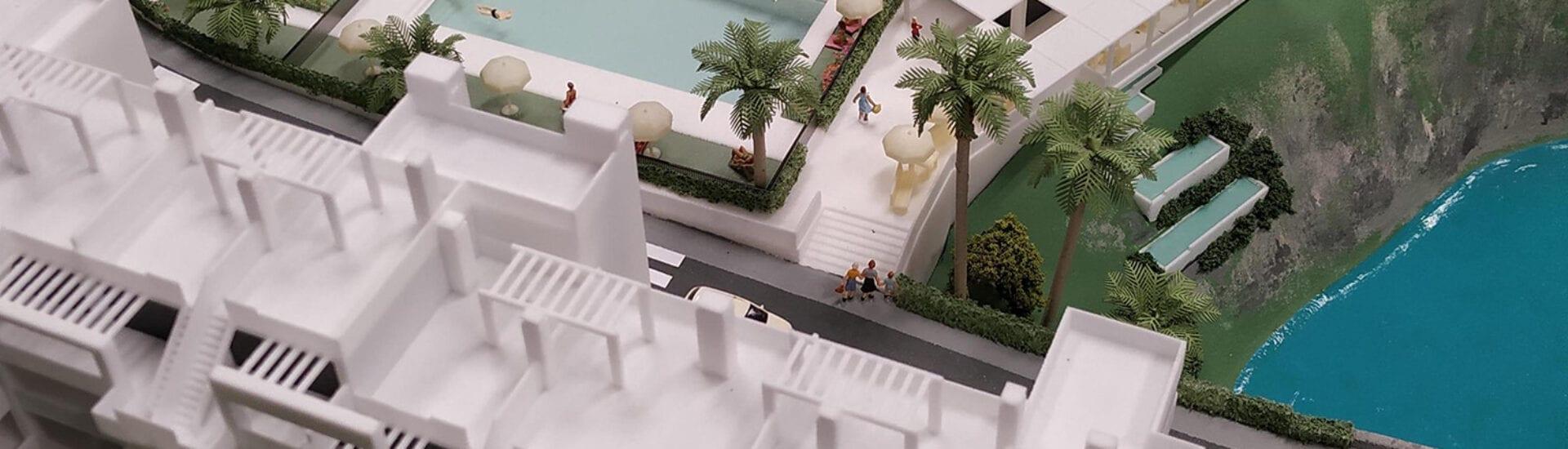 Maquette Spanje Oceanz 3D Printing