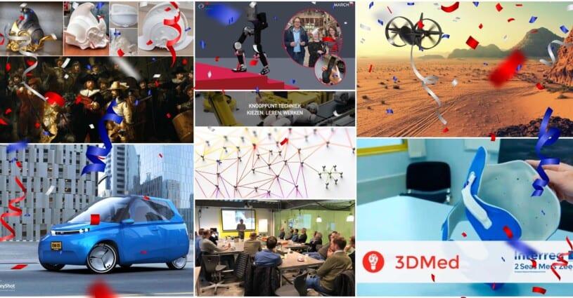 Mei 10 Jaar Samenwerkingen Oceanz 3D Printing