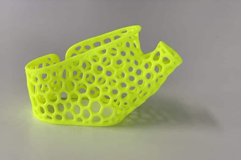 Oceanz NEON Kleuren Van Een 3D Print