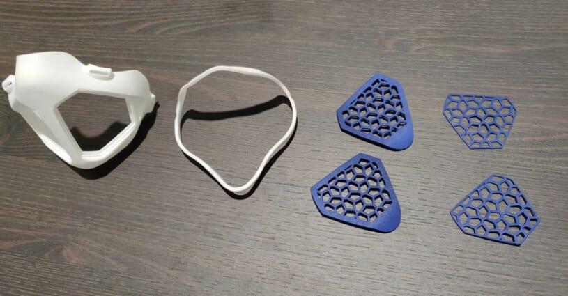 Orthoshapes Mondmasker Oceanz 3D Printing