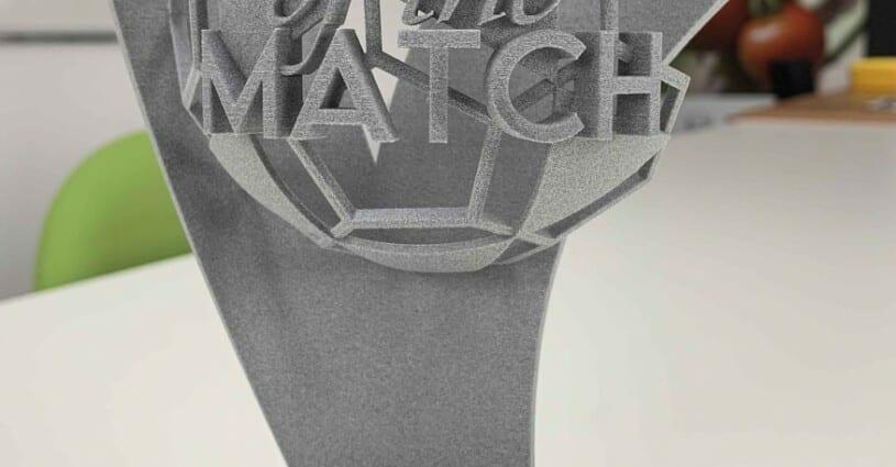 Player Of The Match DVO Award 3D Printen Oceanz