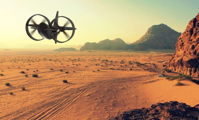 Silverwing Personal Flight Oceanz 3D Printing
