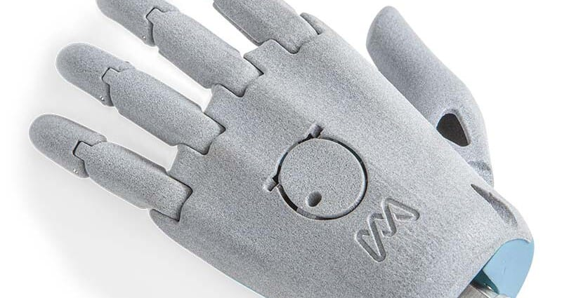 Moveable Hand Oceanz 3D Printing