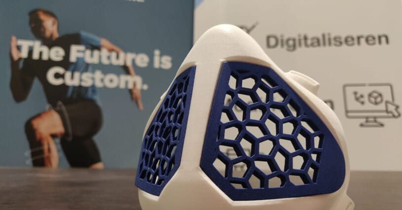 Orthoshapes Mask Oceanz 3D Printing