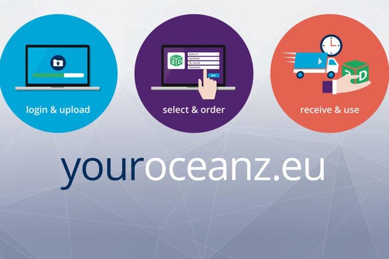 Your Oceanz online 3D printing