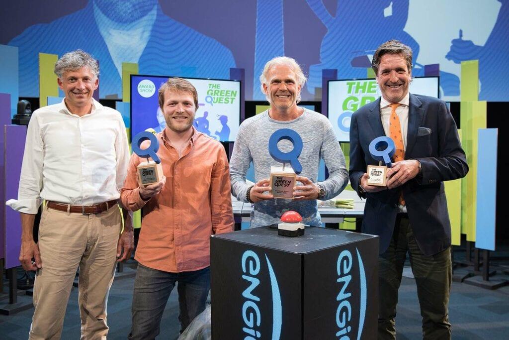Winnaars Green Quest finale 2021 Copyright: Sander Nieuwenhuys
