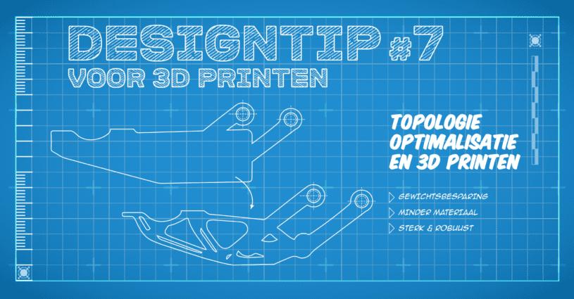 Oceanz Designtip 7 - topologie optimalisatie en 3D printen