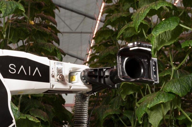 Saia LeafPickingRobot - Oceanz 3D printing