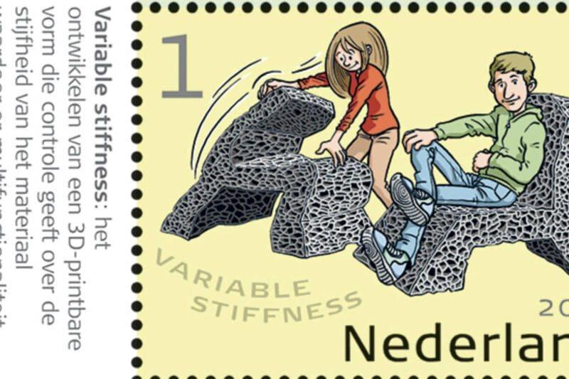 Postzegel 3D Printen Innovaties Nederland Oceanz 3D Printing