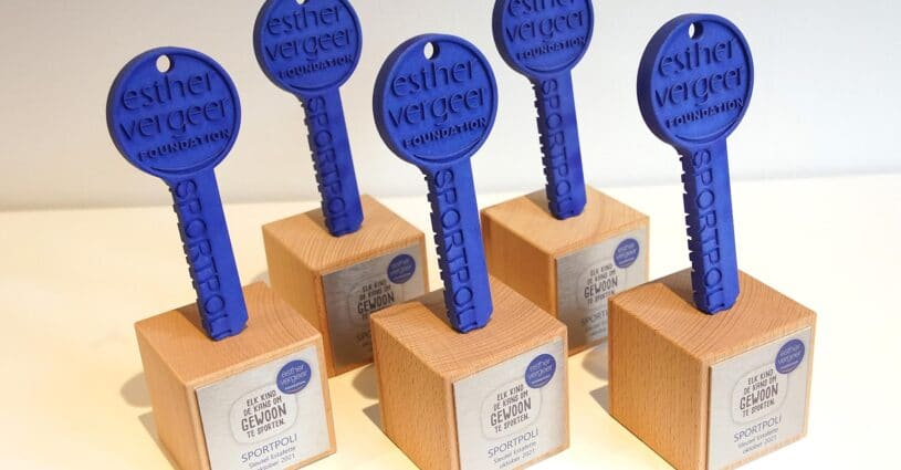 Award 3D Printen Esther Vergeer Foundation Oceanz 3D Printing