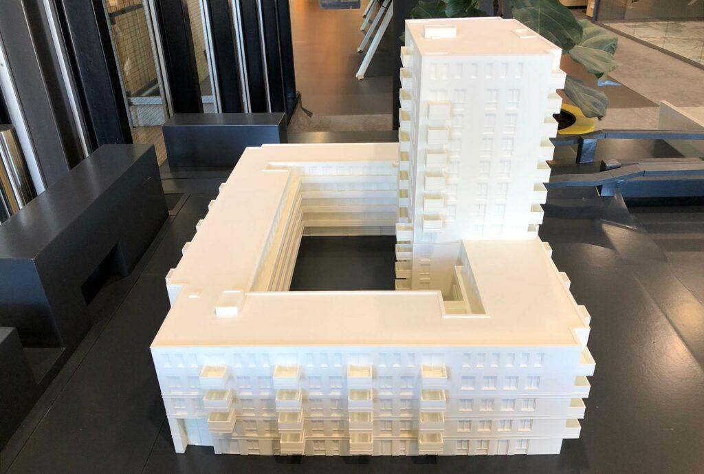 Maquette Groningen Lefier Oceanz 3D Printing 3