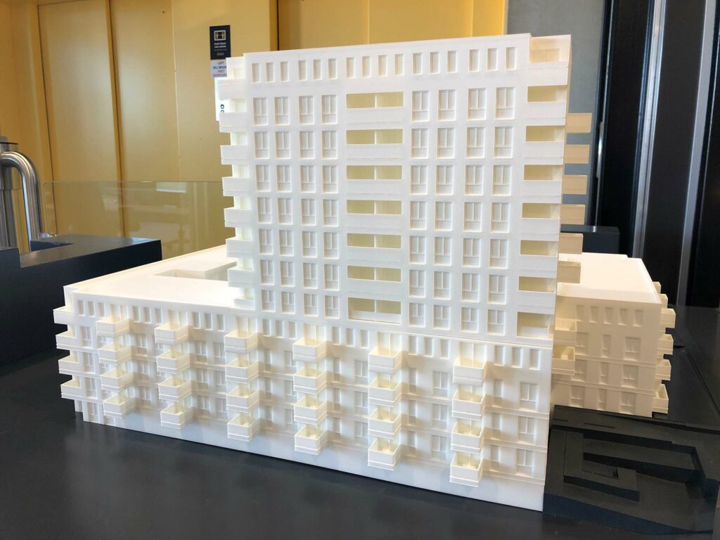 Maquette Groningen Lefier Oceanz 3D Printing2