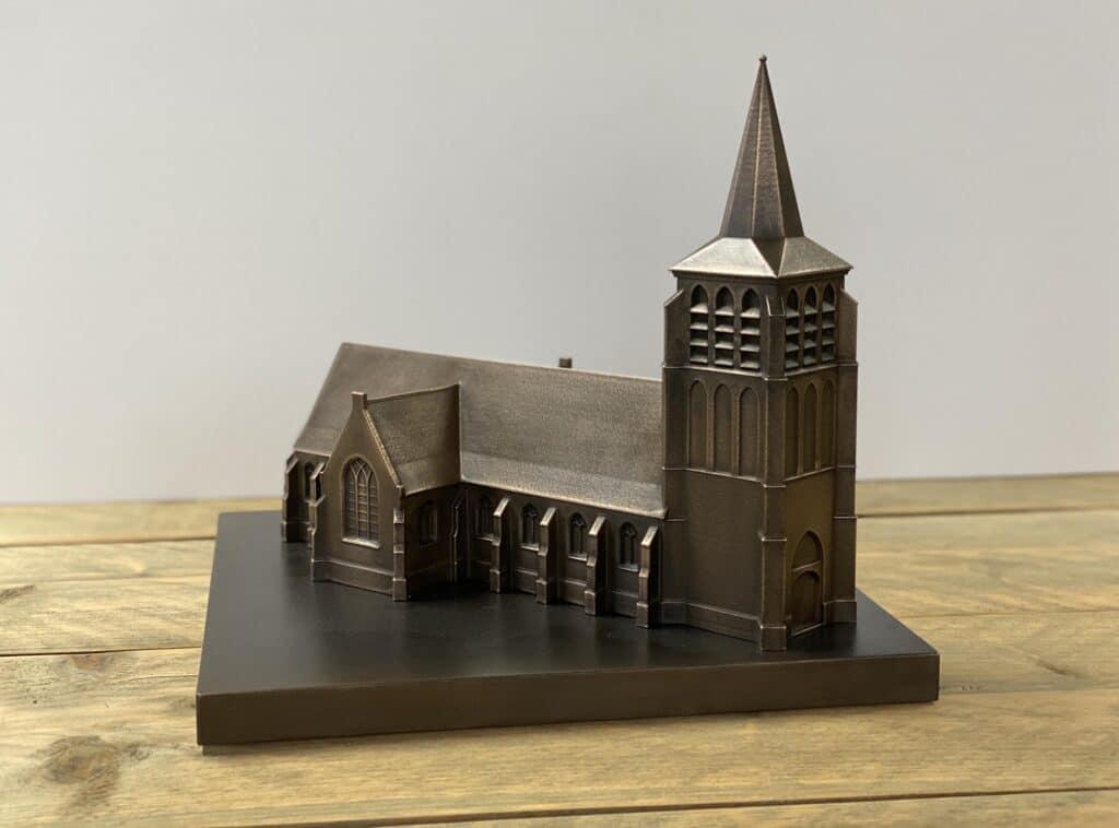 Miniatuur Kerk Engelen 3D Geprint Oceanz